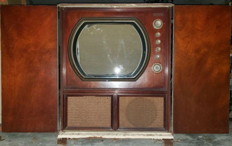 VINTAGE 1951 Stromberg Carlson Television Model 24RP TV, Radio & Record Player