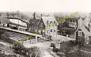 Grove Ferry Railway Station Photo. Minster - Sturry. Ramsgate to Canterbury Line
