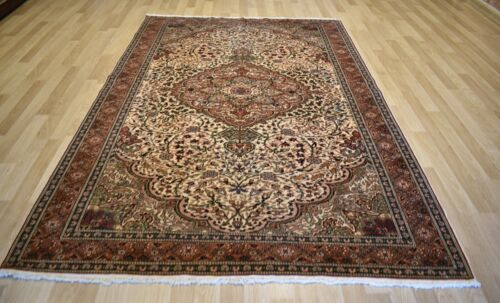 Clearance Gorgeous Antique Genuine Turkish Handmade Rug 7Ft x 10Ft Free Shipping