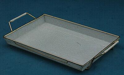 1950s Tablett - Lochblech - Mid Century metal tray Metal Tray