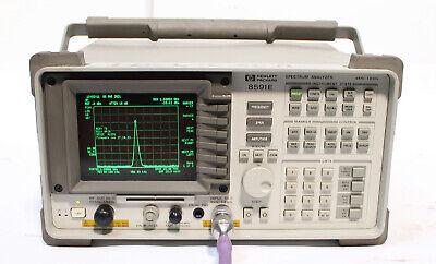 Hp Agilent 8591e 9 Khz - 1.8 Ghz Spectrum Analyzer With Tracking Generator