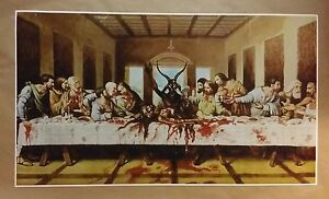 Satanic Last Supper GIANT WIDE 24