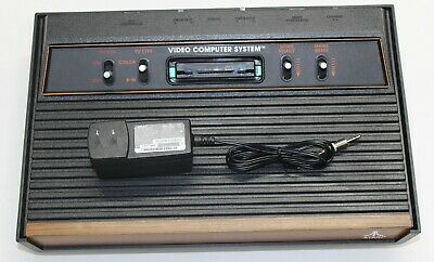 "Atari 2600 Console ""Woody"" Recapped Reconditioned A/V modded Fully Tested"