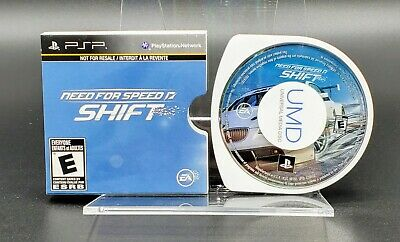 Need For Speed: Shift - Sony PSP (Playstation Portable) UMD Disc - New