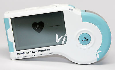 Portable Handheld Home Ecg Ekg Heart Monitor New Model