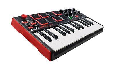 Akai Professional MPK Mini MKII | 25-Key Portable USB MIDI Keyboard With 8 Ba...