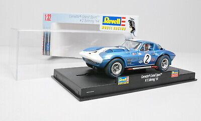 Revell 08361 Slotcar Corvette Grande Sport 2 Sebring 64 ´ / Inutilizzato / 1:3