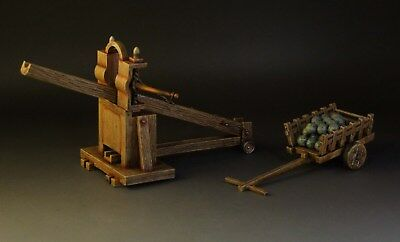 1/30  Roman Catapult #2 with cart Roman011 by Country Honor