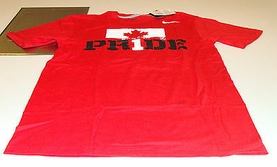 Team Canada 2014 Sochi Olympics L Red Team Pride Hockey T Shirt NWT (Team Canada Hockey-t-shirt)