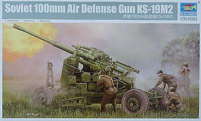 TRUMPETER® 02349  Soviet 100mm Air Defense Gun KS-19M2 in 1:35