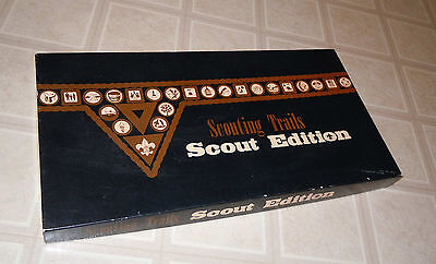 BOY SCOUTS BSA VINTAGE SCOUTING TRAILS SCOUT EDITION 1987 BOARD GAME - COMPLETE?