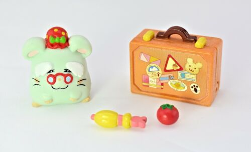 Vintage Hamtaro Auntie Viv Figure & Accessories Complete set EPOCH Japan