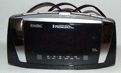 VINTAGE EMERSON RESEARCH SMART SET DUAL ALARM AM/FM CLOCK RADIO