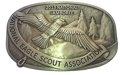 2013 NESA Jamboree Belt Buckle - Eagle Scouts