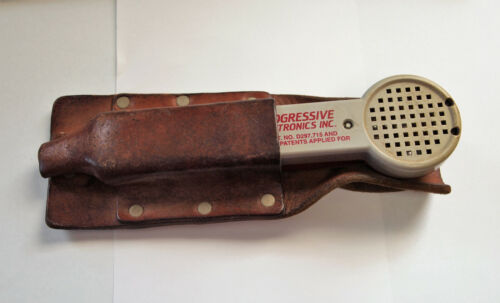 Vintage Progressive Electronics 200EP Inductive Amplifier and Leather Case