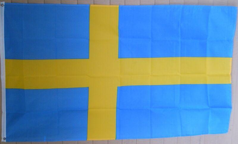 NEW 3x5 ft SWEDEN FLAG BANNER