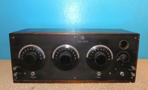 1923 FADA One-Sixty Neutrodyne Battery Radio Great Condition