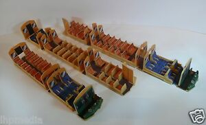CLASS 110 HORNBY 3 CAR DMU INTERIOR DETAILING KIT - SEATS BULKHEADS CARPETS ETC