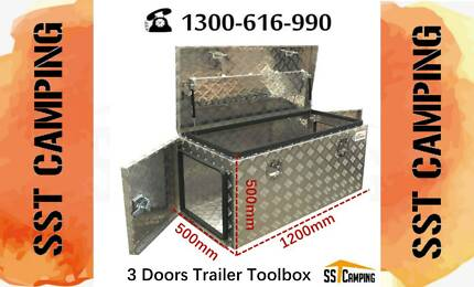 3 doors trailer toolbox Aluminium  L1200*W500*H500 Brand New Clayton South Kingston Area Preview