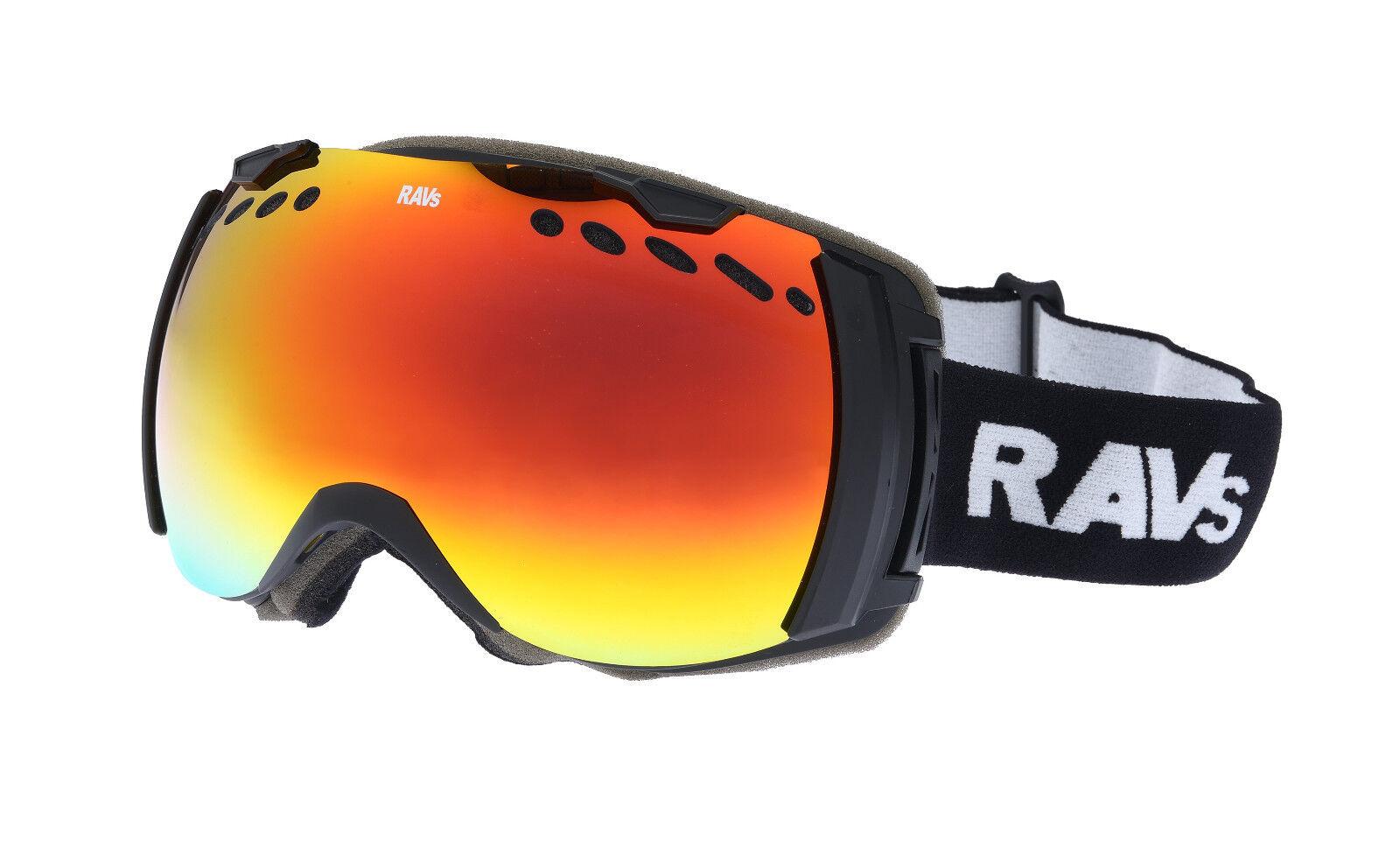 Ravs Schutzbrille Skibrille Snowboardbrille Schneebrille AUCH für Brillenträger
