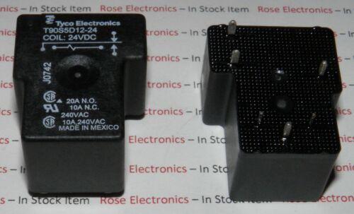 T90S5D12-24  TYCO  Power Relay 24VDC 30A SPDT(32.26x27.43x20.4)mm THT
