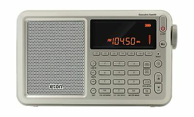 Eton Executive Satellite Audio Component, Grey  Shortwave Ra