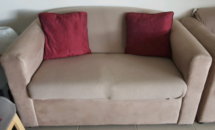 2 × 2 seater sofas