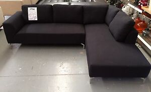 Brand New 'Flynn' Fabric Corner Sofa Eumemmerring Casey Area Preview