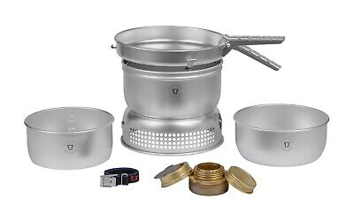 Stainless Steel Go System Adapt Gas Conversion Kit For Trangia Stove GS2000