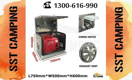 Sell Like hot Cakes Aluminium Generator Ventilated L750*W500*H600 Clayton South Kingston Area Preview