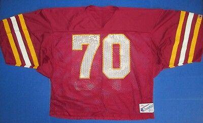 41e687f14 #70 Champion football jersey Florida State Seminoles Washington Redskins NFL  fan