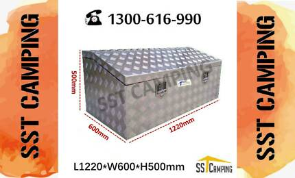 L1220*W600*H500 Heavy Dute Top Open Aluminium Toolbox Clayton South Kingston Area Preview