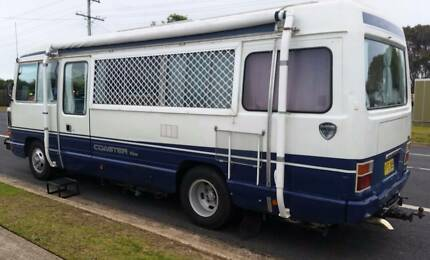 1991 TOYOTA COASTER H2B30 LWB IN VERY GOOD CONDITION OWNER MUST S Narooma Eurobodalla Area Preview