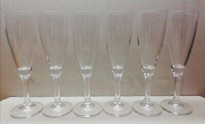 12 Calice Flute, Bicchieri Per Spumante/champagne 0,10 L.