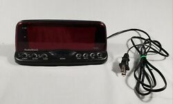 Radio Shack 2 Red LED Display Loud Alarm Clock #63-960 AC use only