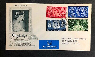 Great Britain 1953 Coronation FDC First Day cover