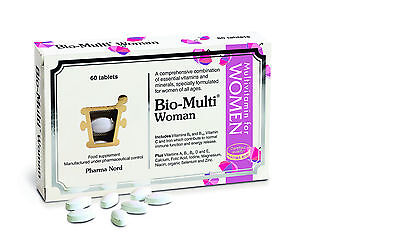 (Bio Multi Woman Vitamin & Mineral Supplement - 60 Tablets by Pharma Nord)