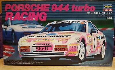 """1/24 Hasegawa Porsche 944 Turbo """"Blaupunkt"""" - Original Issue"""