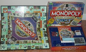 MONOPOLY The Here & Now World Edition w/ electronic banker