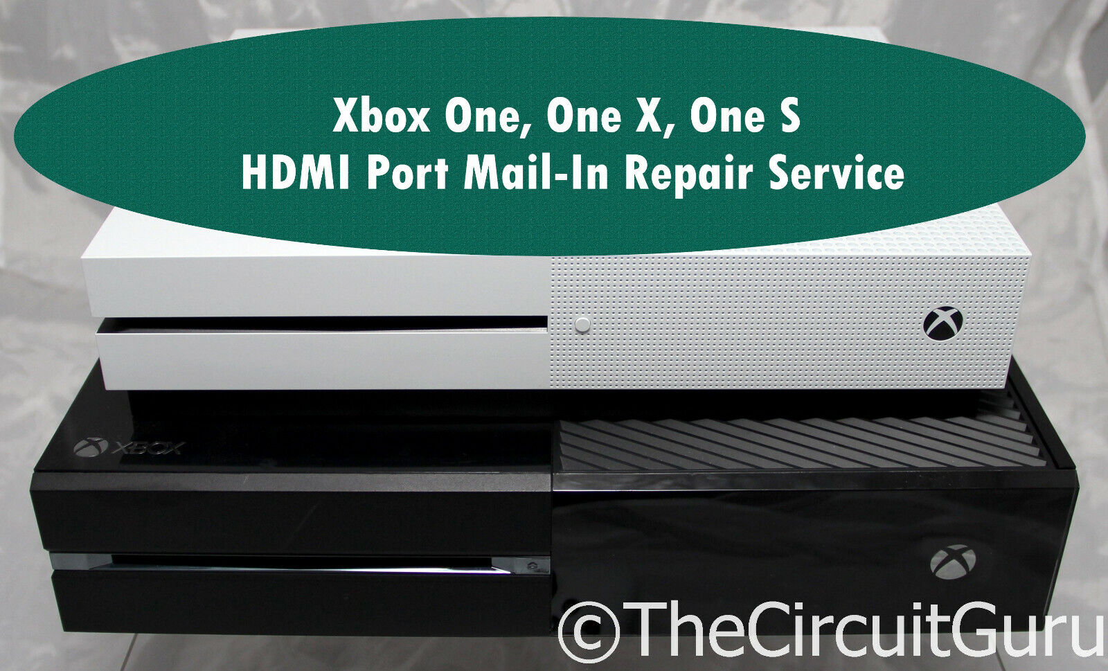 Xbox One, Xbox One X, Xbox One S HDMI Port Replacement Service - $39.99