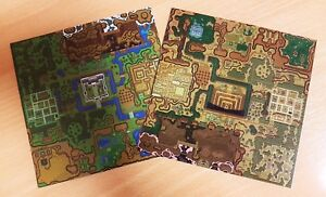 The Legend of Zelda: A Link to the Past / Hyrul Map / Nintendo SNES Classic