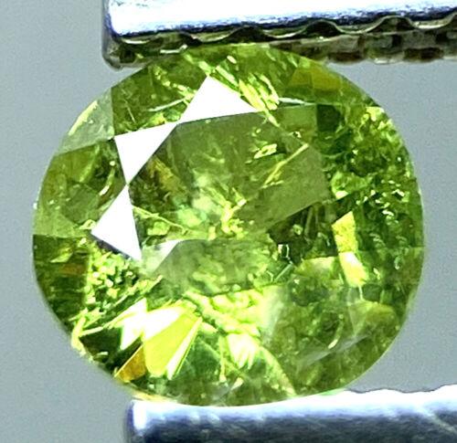 Demantoid Garnet 0.35 Cts Natural Unheated From Russia - Loose Gemstone - Rare