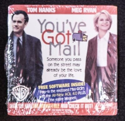 Vintage Rare Software  Aol Youve Got Mail Brand New Factory Sealed