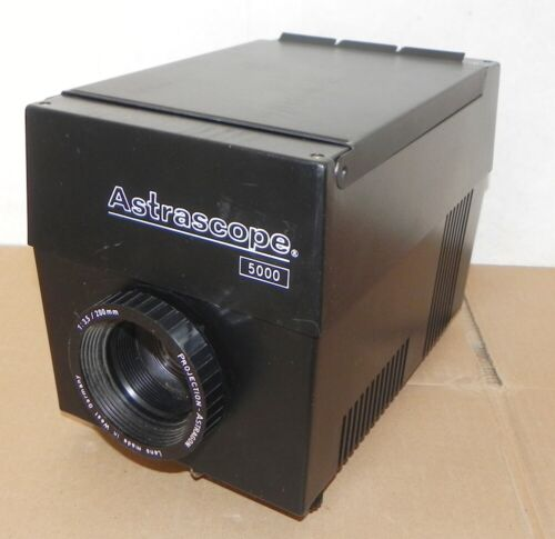 ASTRASCOPE 5000 PROJECTOR PHOTO 5.5 X 5.5 INCH ART IMAGE ENLARGEMENT PHOTOGRAPH