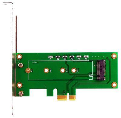 M.2 (NGFF) M-Key SSD an PCIe x1 Adapter, für Samsung 950 Pro, SM951. ID19346