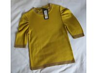 New M & S Short Sleeve Top