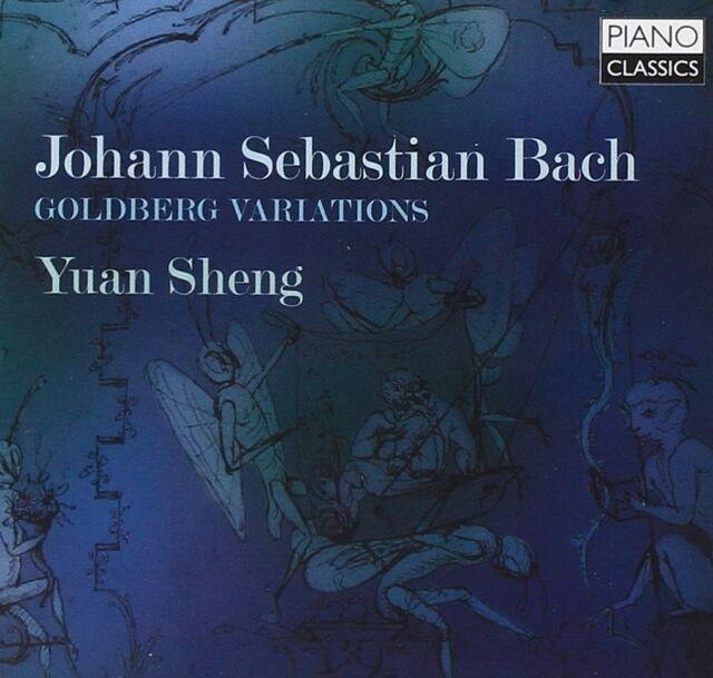 YUAN SHENG - GOLDBERG VARIATIONS  CD NEU BACH,JOHANN SEBASTIAN