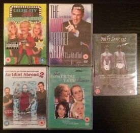 5 New DVDs: Comedy TV Shows (15-18 certificate)