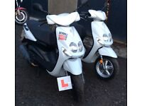 Honda Yamaha 50cc moped