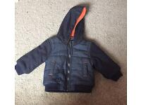 Boys Warm Coat - 6-9 months